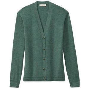 Tory Burch Madison Cardigan Teal